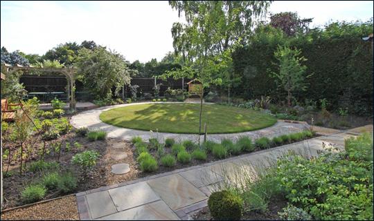 Small Sunny Rear Garden Accent Garden Designs